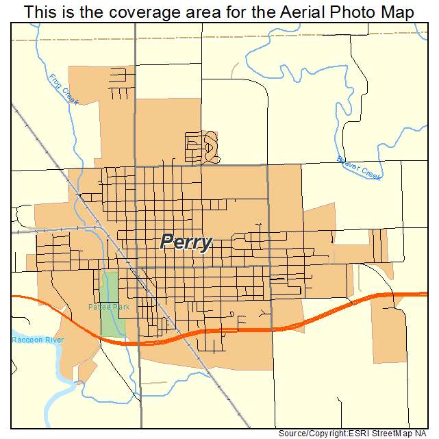 map of perry iowa Aerial Photography Map Of Perry Ia Iowa map of perry iowa