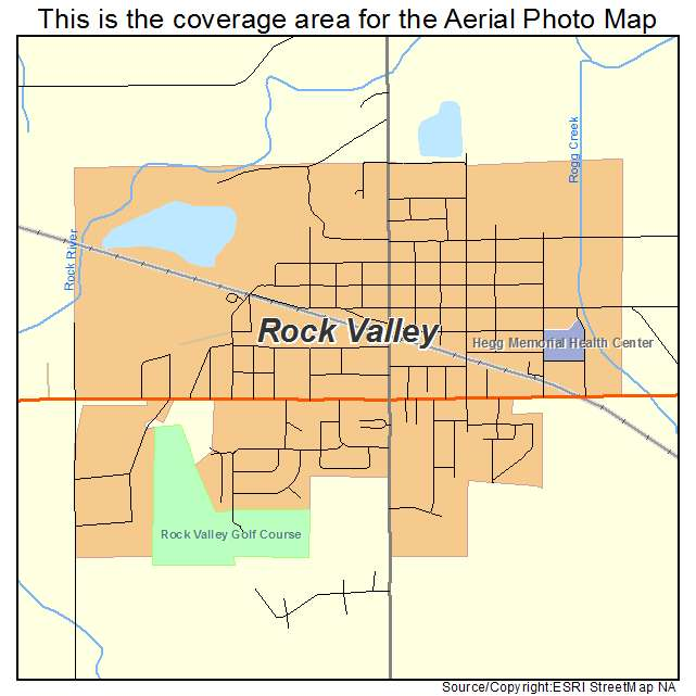 rock valley iowa map Aerial Photography Map Of Rock Valley Ia Iowa rock valley iowa map