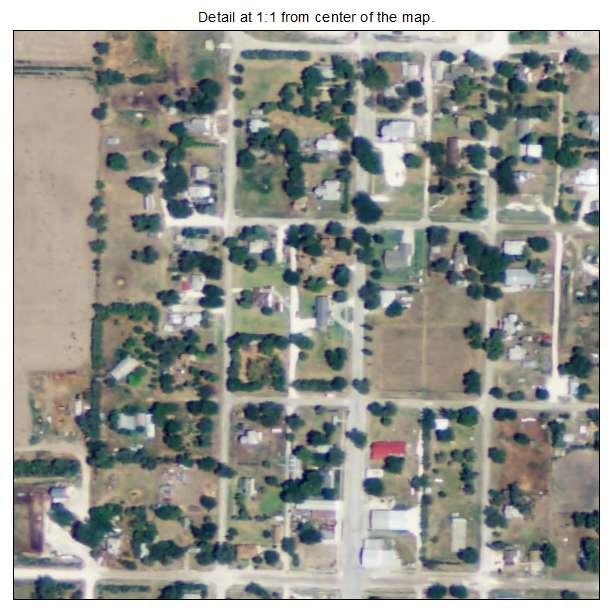 Alton Kansas Map.Aerial Photography Map Of Alton Ks Kansas
