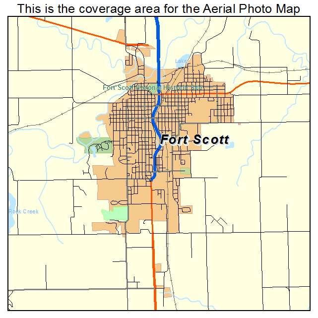 Fort Scott, KS location map