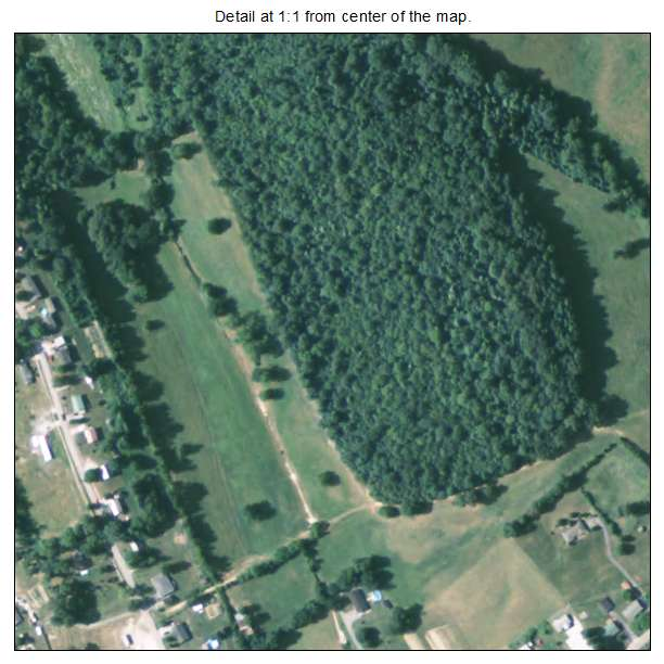 Annville, Kentucky aerial imagery detail
