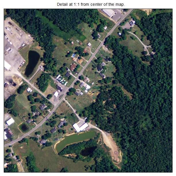 Dixon, Kentucky aerial imagery detail