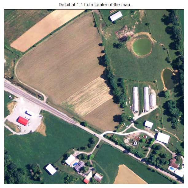 Gratz, Kentucky aerial imagery detail