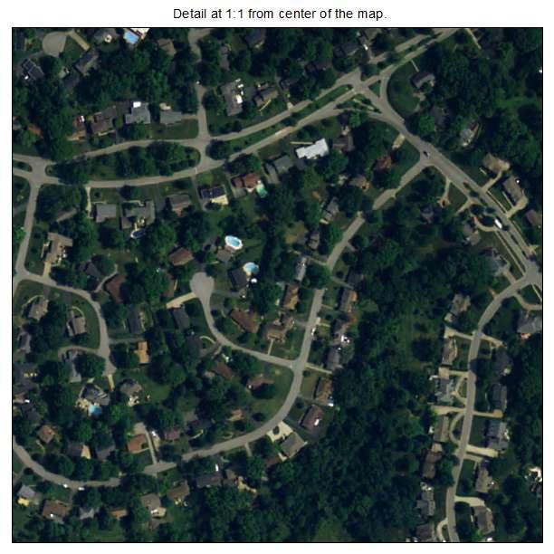Green Spring, Kentucky aerial imagery detail