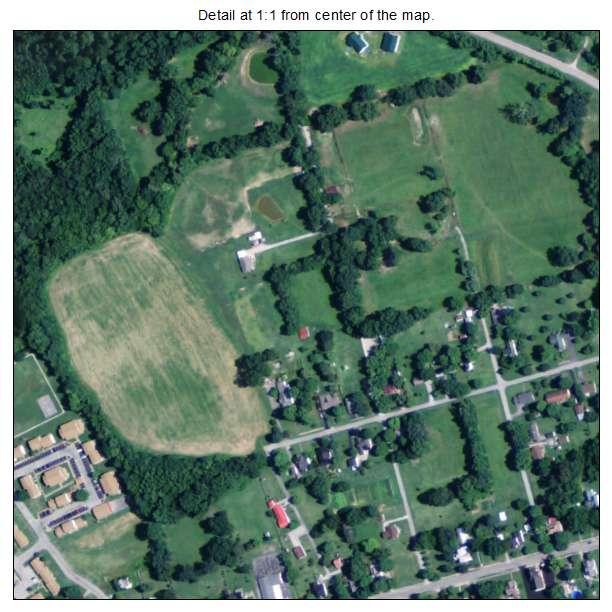 Guthrie, Kentucky aerial imagery detail