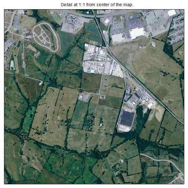 Richmond, Kentucky aerial imagery detail