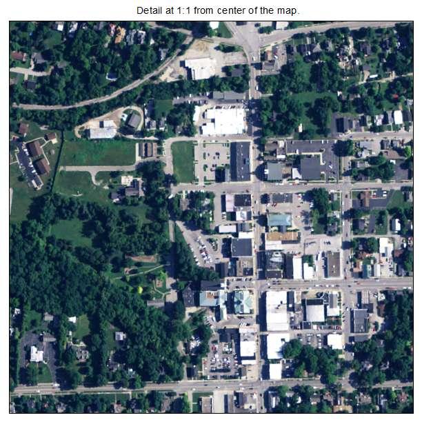 Versailles, Kentucky aerial imagery detail