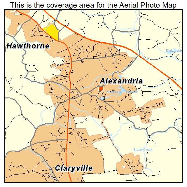 Alexandria, KY location map