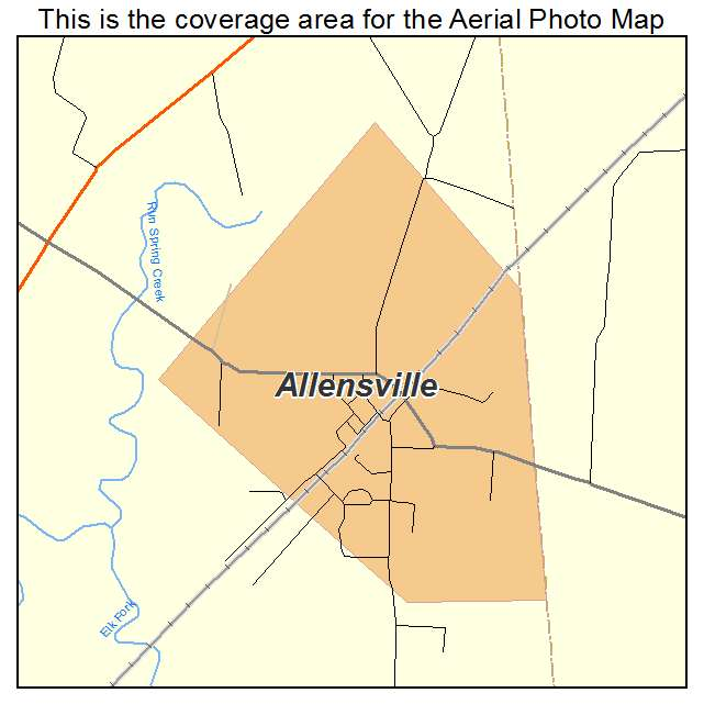 Allensville, KY location map