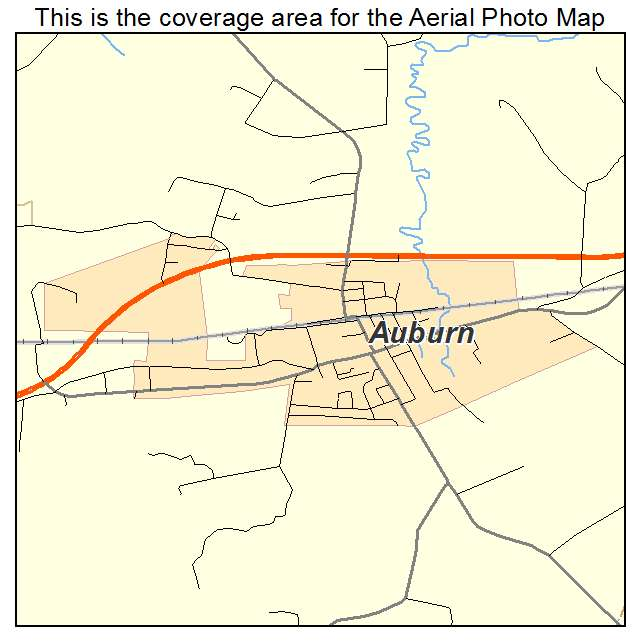 Auburn, KY location map