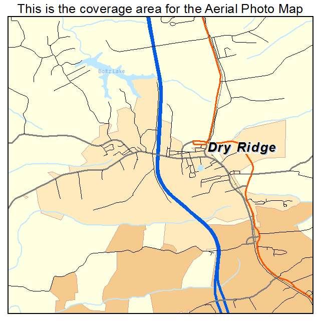 Dry Ridge, KY location map