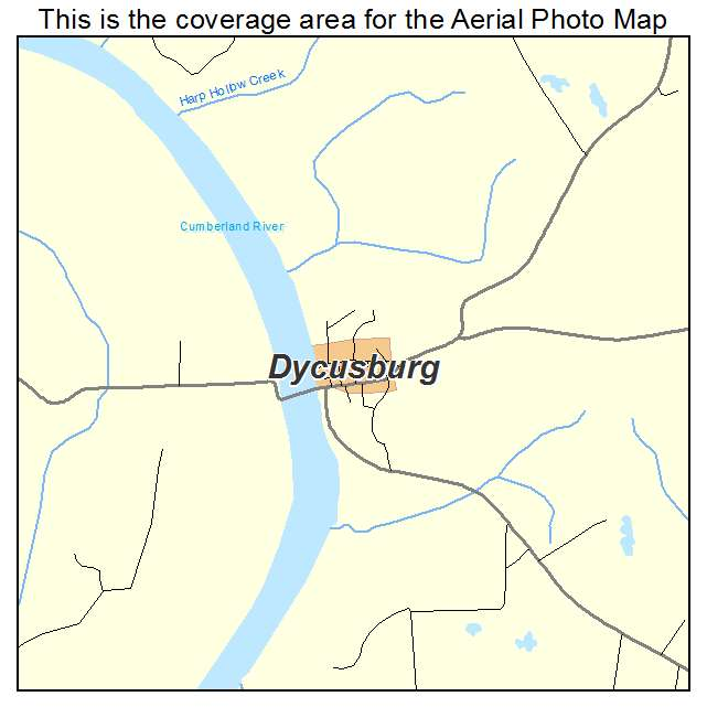 Dycusburg, KY location map
