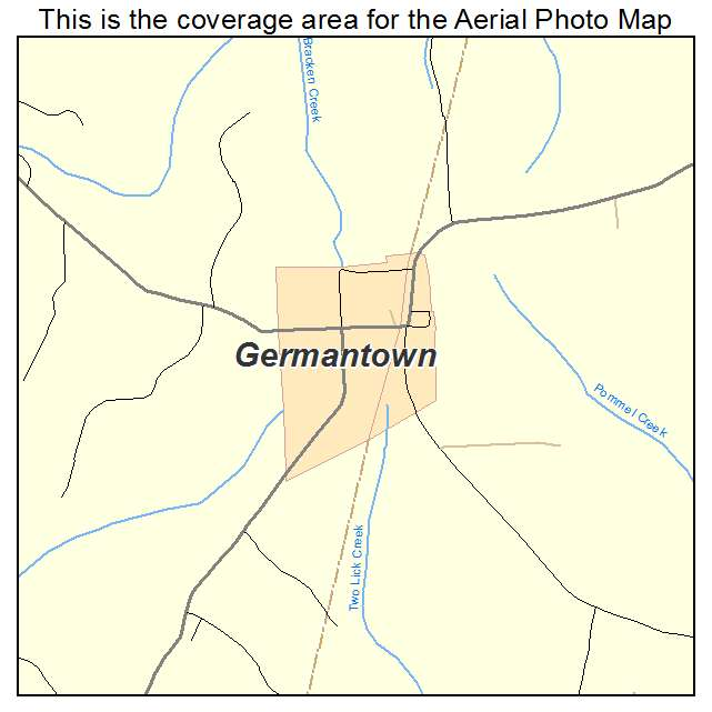 Germantown, KY location map