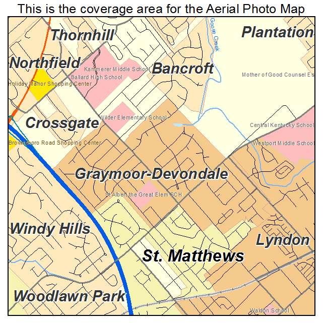 Graymoor Devondale, KY location map