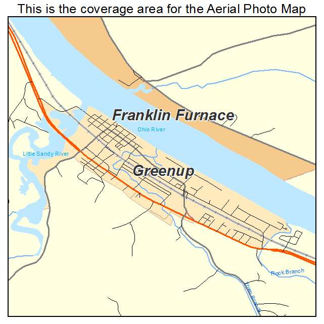 Greenup, KY location map