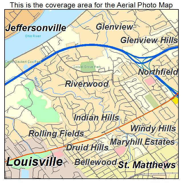 Indian Hills, KY location map