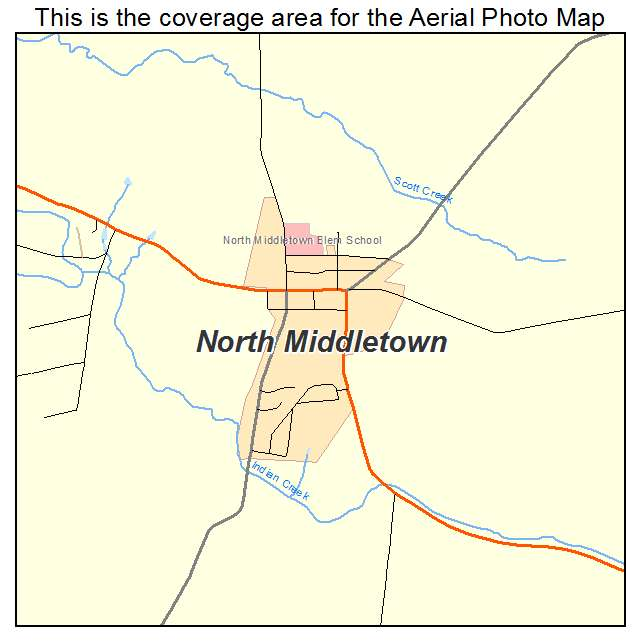 North Middletown, KY location map