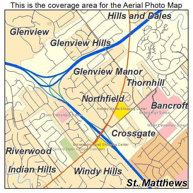 Northfield, KY location map