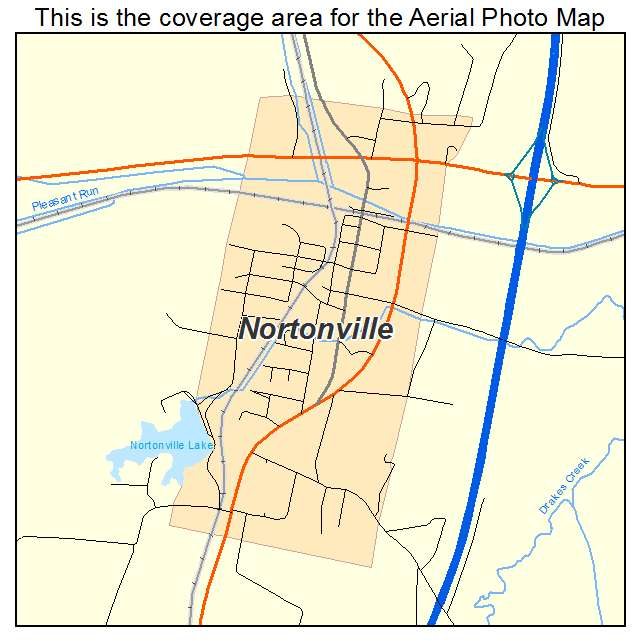 Nortonville, KY location map