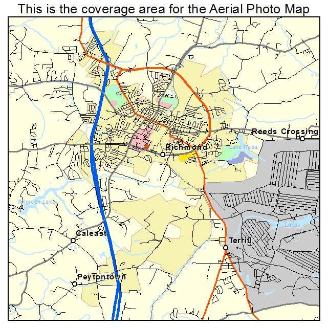 Richmond, KY location map
