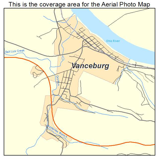 Vanceburg, KY location map