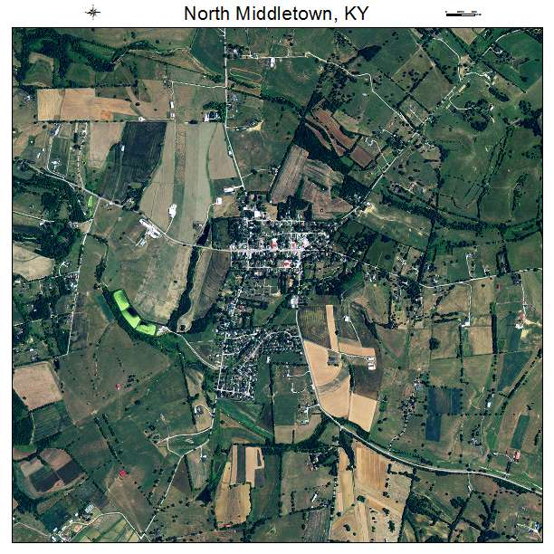 North Middletown, KY air photo map