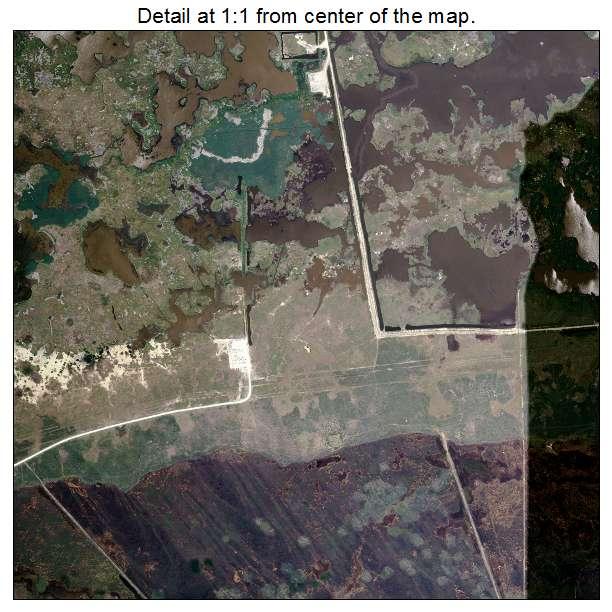 Cameron, Louisiana aerial imagery detail