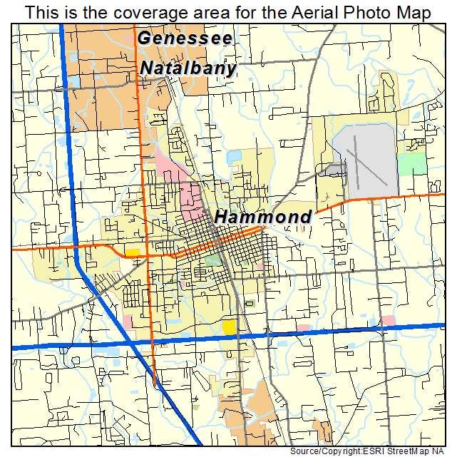 Used Cars Hammond La Map Of Hammond Louisiana for Pinterest