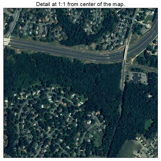 Redland, Maryland aerial imagery detail