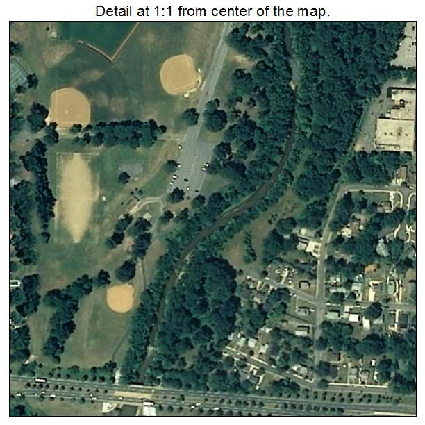 Riverdale Park, Maryland aerial imagery detail