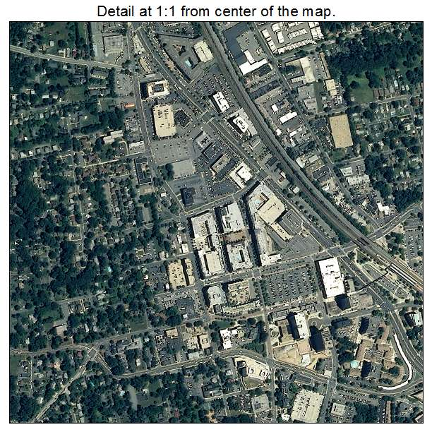 Rockville, Maryland aerial imagery detail
