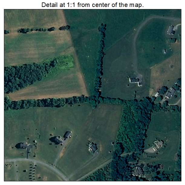 Rohrersville, Maryland aerial imagery detail