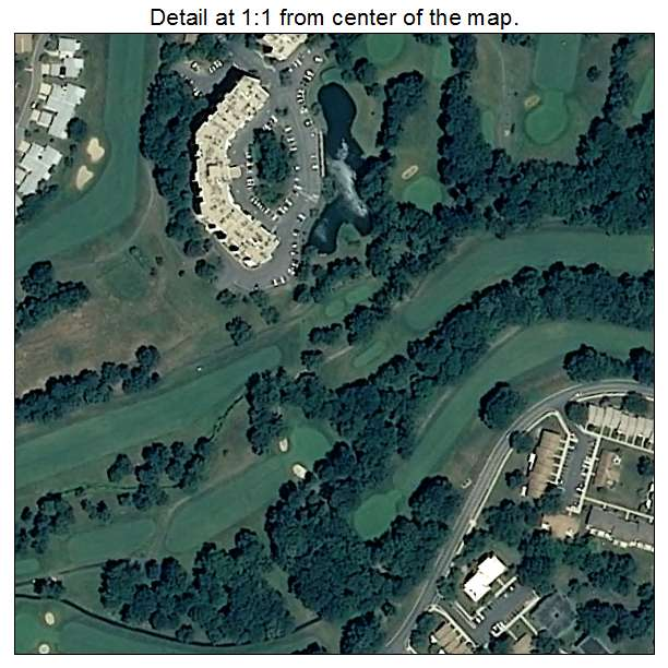 Rossmoor, Maryland aerial imagery detail