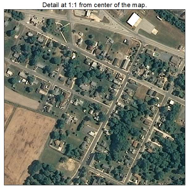 Vienna, Maryland aerial imagery detail