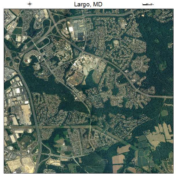 Largo Town Center: Aerial Photography Map Of Largo, MD Maryland