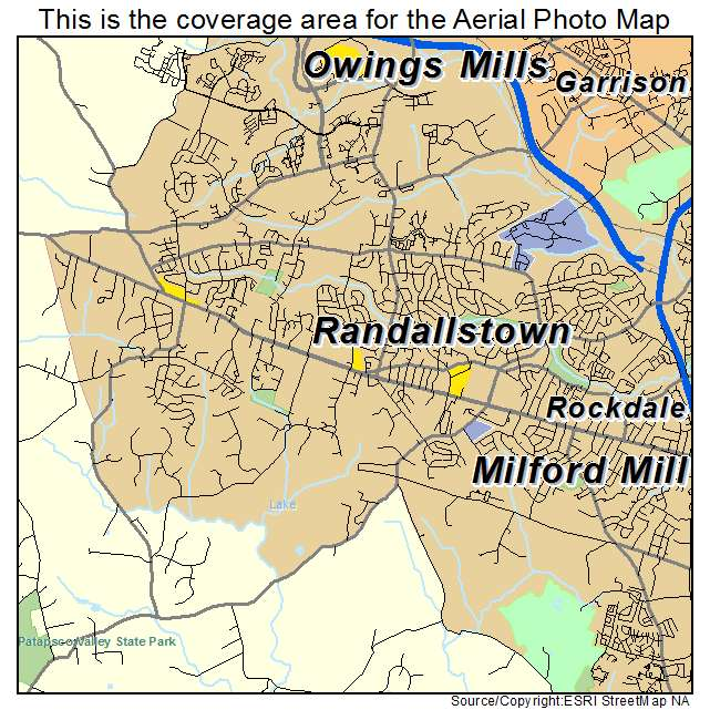 Randallstown, MD location map