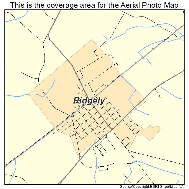 Ridgely, MD location map