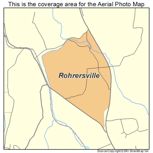 Rohrersville, MD location map