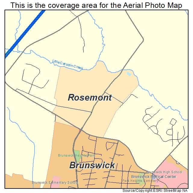 Rosemont, MD location map