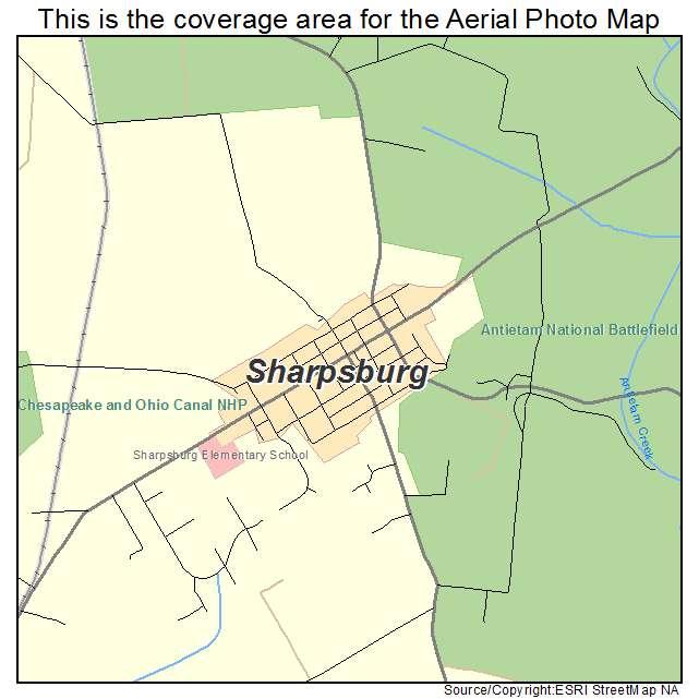 image gallery sharpsburg map