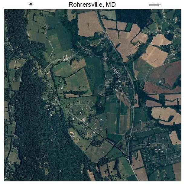 Rohrersville, MD air photo map