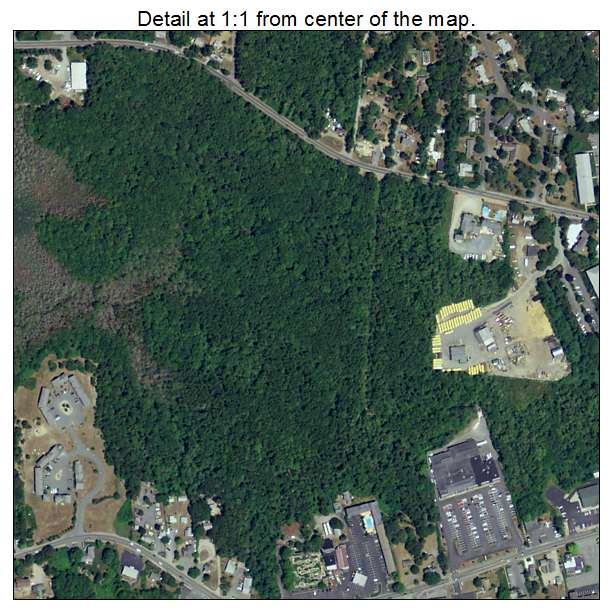 Dennis Port, Massachusetts aerial imagery detail