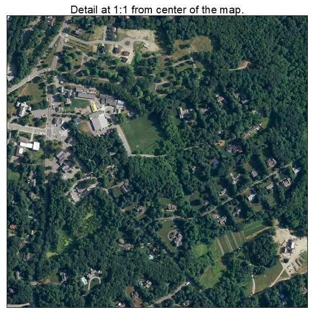 Dover, Massachusetts aerial imagery detail