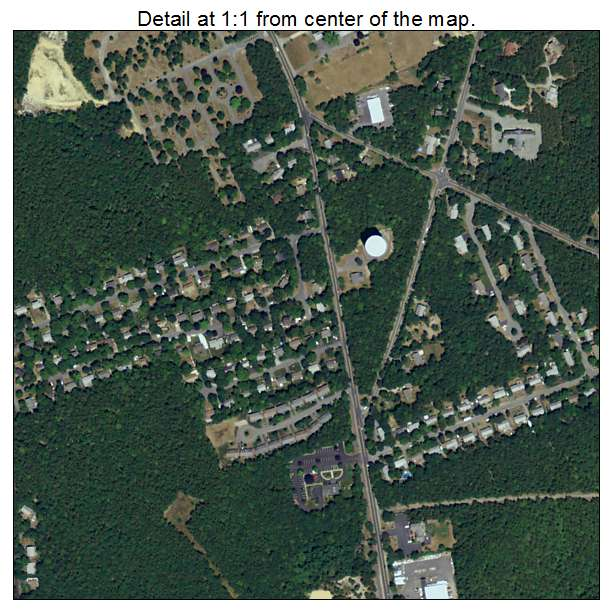 South Dennis, Massachusetts aerial imagery detail