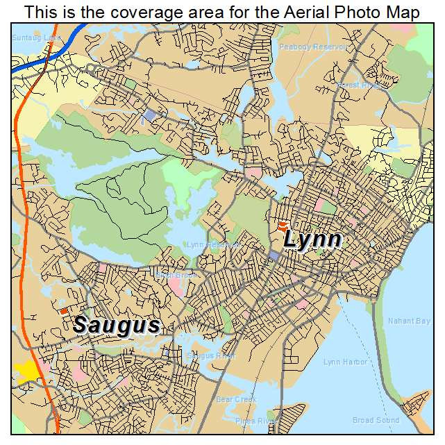 Lynn, MA location map