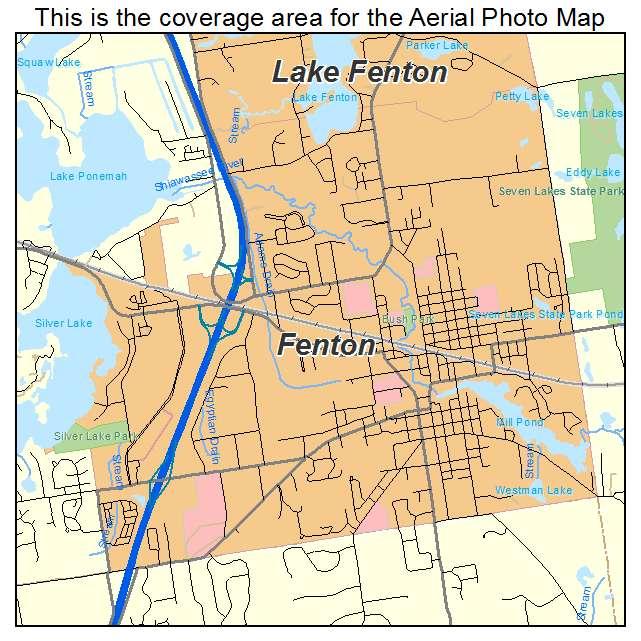 Fenton MI Map