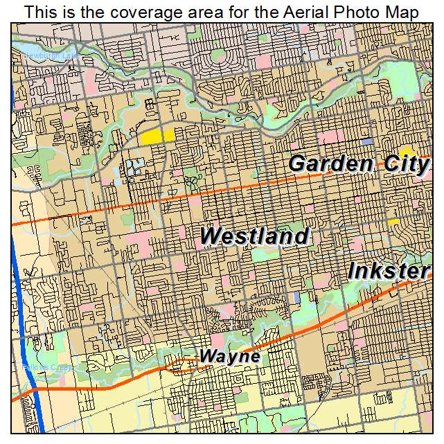 Westland art Westland city map Custom city map Westland map Westland print Westland Michigan map Westland MI map Westland poster
