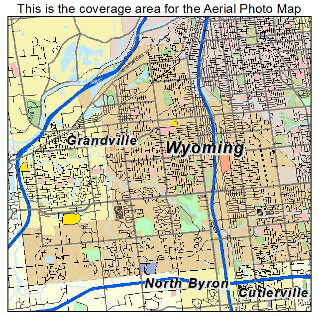 Wyoming Michigan Map
