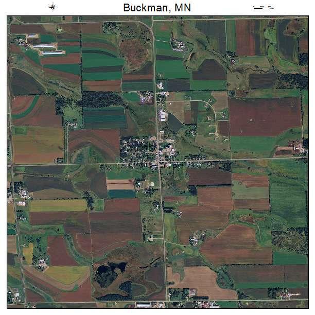 Buckman, MN air photo map