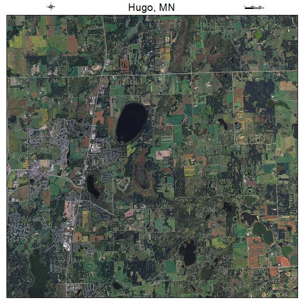 Hugo Minnesota Map.Aerial Photography Map Of Hugo Mn Minnesota
